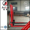 2017 High Quality 2.0t Heavy-Duty High Lifting Semi Electric Stacker with Lift Height: 3000~5000mm