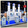 Aluminum Customized Modular Exhibition Booth Display Fair Stand