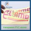 Transparent Plastic Customized Printed Sticker (CMG-STR-002)