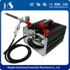HS-218sk Airbrush Compressor and Kit Cheap Airbrush Kits