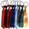 Wholesale Custom Polyester School Yellow Neck Ties (A392)