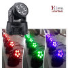 Dimming Wash 15W Rgabw Mini Moving Head Wedding Decoration