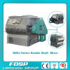 High Effeciency Double Shaft Livestock Feed Mixers for Sale