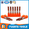 HRC 55 Degree 4 Flutes Solid Carbide Endmill