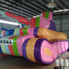Tarpaulin Rainbow Tank Can Be Display/Event in Outdoor