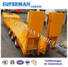 Hydraulic 60t Lowbed Cargo Trailer for Crane