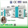 4 Colors Paper Central Drum Flexographic Printing Machine