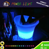 Plastic Multi-Colors Glowing LED Wine Ice Bucket
