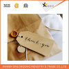 Custom Design Fashion Style Hot Selling Kraft Garment Hang Tag