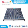 Roof Heat Pipe Solar Collector Keymark Flat, Copper Aluminum Collector