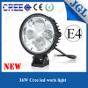 Round High Power 36W CREE LED Spot Work Light