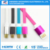 Quality Braided Fabric TPE Micro USB Data Sync Charger Cable for I5/I6