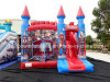 Commercial Inflatables Bouncy Castle, Inflatables Bouncer with Slide