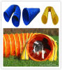 Blue Outdoor Dog Tunnel 24inch X 20ft