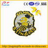 Yellow Bee Color Paint Metal Badge