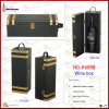 Single PU Leather Wine Carrier (6048)