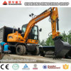 China Best 6 Ton Wheel Excavator with Low Price