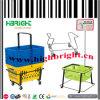 Metal Wire Basket Carrier for Supermarket Shopping Baskets