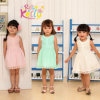 Sleeveless High Quality Cotton Children Baby Clothes/ Baby Cotton Frocks