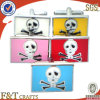 Fashion Men′s Funny Metal Skull Cufflinks for Garment Accessory