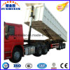 Cimc 3alxes End Dump Semi Trailer/ 100ton Rear Dumper Trailer