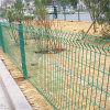Curve PVC Coated Welded Wire Mesh Fence