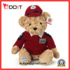 Teddy Bear Collection Red Clothes Teddy Bear with Baseball Uniform