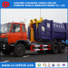 HOWO/Dongfeng 6X4 Swing Arm Type Garbage Truck Hook Lift Garbage Truck for Sale