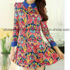 Wholesale New Fashion Pattern Printed Women Skirt Dress