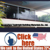 Tempered Glass Stainless Steel Baluster Railing