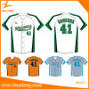Healong Free Design Color Sublimation Latest Style Man Baseball Jersey Shirts