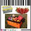 Fruit and Vegetable Foldable Plastic Crates Basket Box
