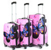Bw1-170 Pink-Butterfly Trolley Luggage Suitcase Hard Case Luggage for Travel