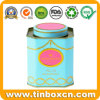 Octagonal 3D Embossed Tea Tin Box for English Breakfast Tea