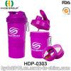 2017 Christmas 400ml BPA Free PP Plastic Shaker Bottle