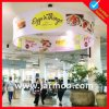 Large Promotional Tension Fabric Ceiling Sign Holders