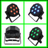 7 X 10W RGB Flat LED PAR Light Stage Light