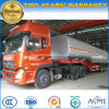 3 Axles Heavy Duty Fuel Tanker Truck Trailer 40 to 55cbm Tank Semi Trailer
