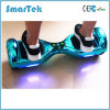 Smartek Hot Sales Chrome Scooter Fashion Gyroskuter Electric Hoverboard Smart Electroplated Mobility Segboard Skateboard Chrome Hoverboard with LED 010 Chorme