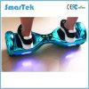 Smartek Hot Sales Chrome Scooter Fashion Gyroskuter Electric Hoverboard Smart Electroplated Mobility Segboard Skateboard Chrome Hoverboard with LED 010 Chorme