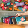 Custom Printed Felt Pencil Zipper Lock Felt Pencil Zipper Bag