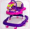 Purple Children Foldable Baby Walker