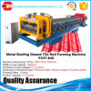 Popular Style Classic Glazed Tile Roofing Sheet Red Metal Glazed Tile Roll Forming Machine