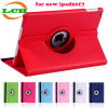360 Degree Rotating Stand Smart Flip Tablet Case for New iPad2017
