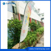 2015 Wholesale Widely Used Feather Flag Promotion Flag Knife Beach Flying Flag Advertising