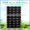300W High Efficiency Mono Renewable Energy Saving Solar Cell Panel