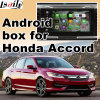 Android GPS Navigation System Video Interface for 9th Honda Accord, Touch Android System Navigation Rear View Mirror Link