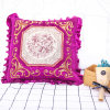 Square Sofa Embroidery Design Bed Pillow