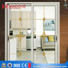 Modern Design Double Tempered Glass Aluminium Sliding Door