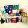 Car Seat Cushion Two Bright Sequin Throw Pillow